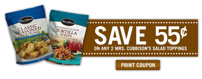 Mrs. Cubbison's Coupon